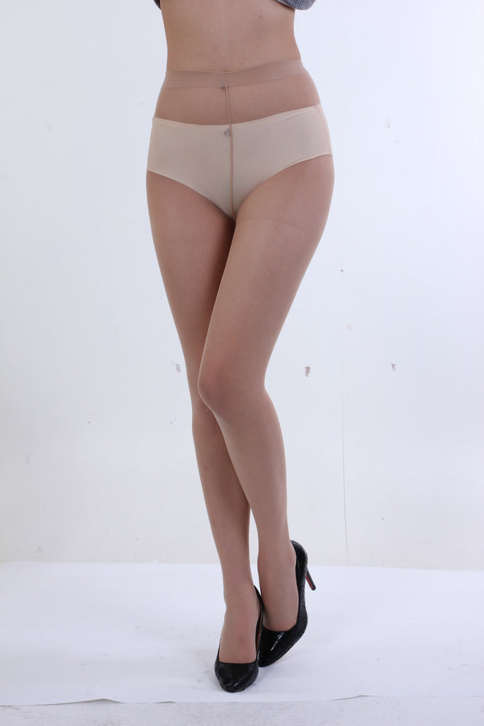 Nude Ultra Sheer 100% Nylon 10 Denier Pantyhose Matte Finish