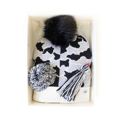 Hat Bizarre - GIFT BOX - Mars Camo In Monochrome - Bobble Hat