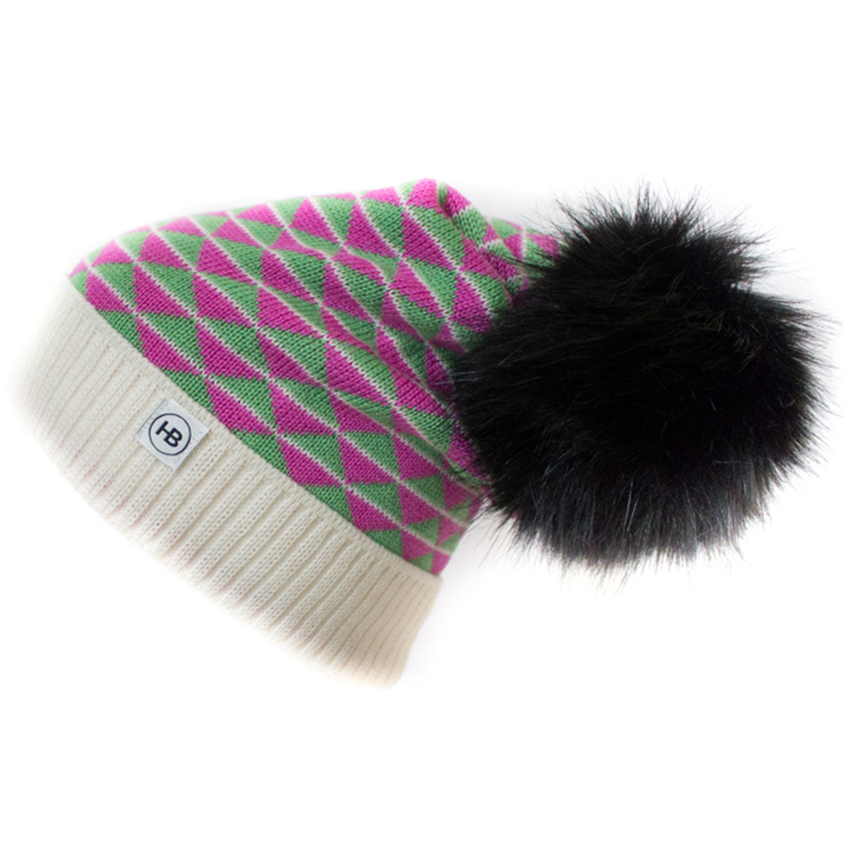 Hat Bizarre - PYTHAGORAS IN PINK - Bobble Hat