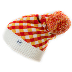 Hat Bizarre - SCALES IN RED - Bobble Hat