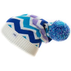 Hat Bizarre - WAVY IN BLUE - Bobble Hat