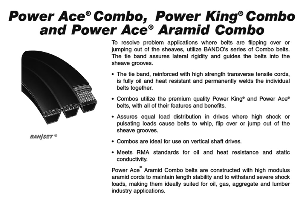 4-8VK1400  Power Ace Combo Aramid