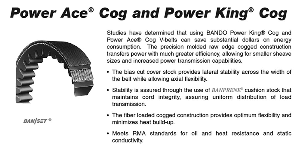 BX108  Power King Cog