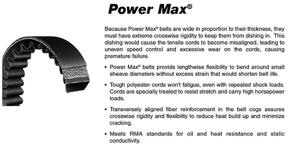 1422V290  Power Max Variable Speed