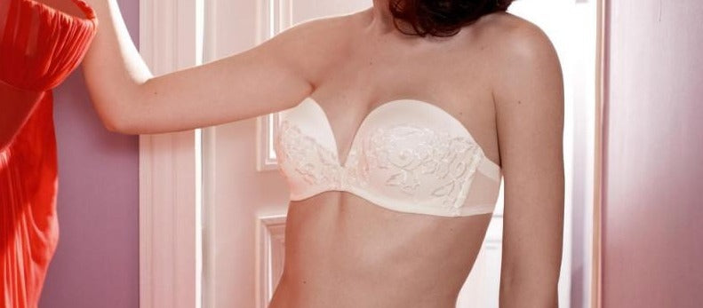 simone perele olympe strapless padded 16T304 ivory