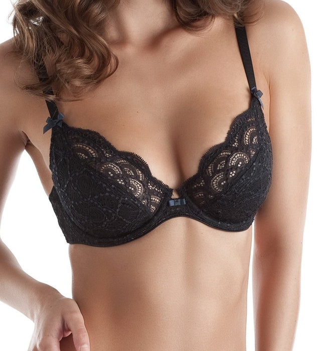 chantelle st germain balconette plunge 3411 black
