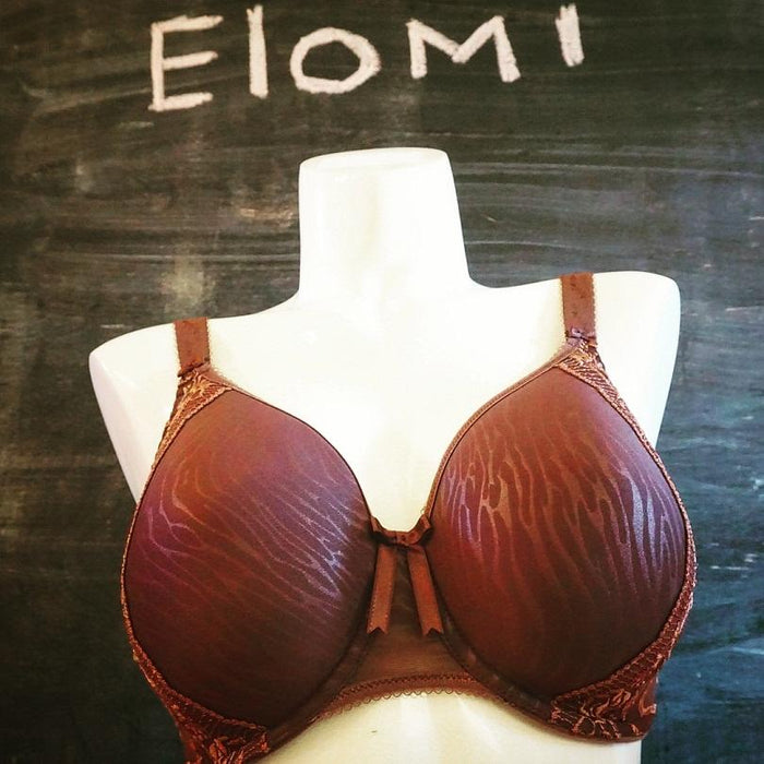 The Kenya by Elomi is an ultra-light, t-shirt, molded cup bra that offers superior support and shape without adding size. Style EL8130.