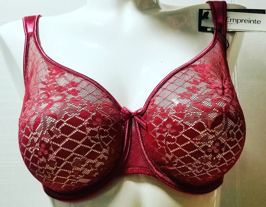 empreinte melody banded full cup wired 1786 framboise