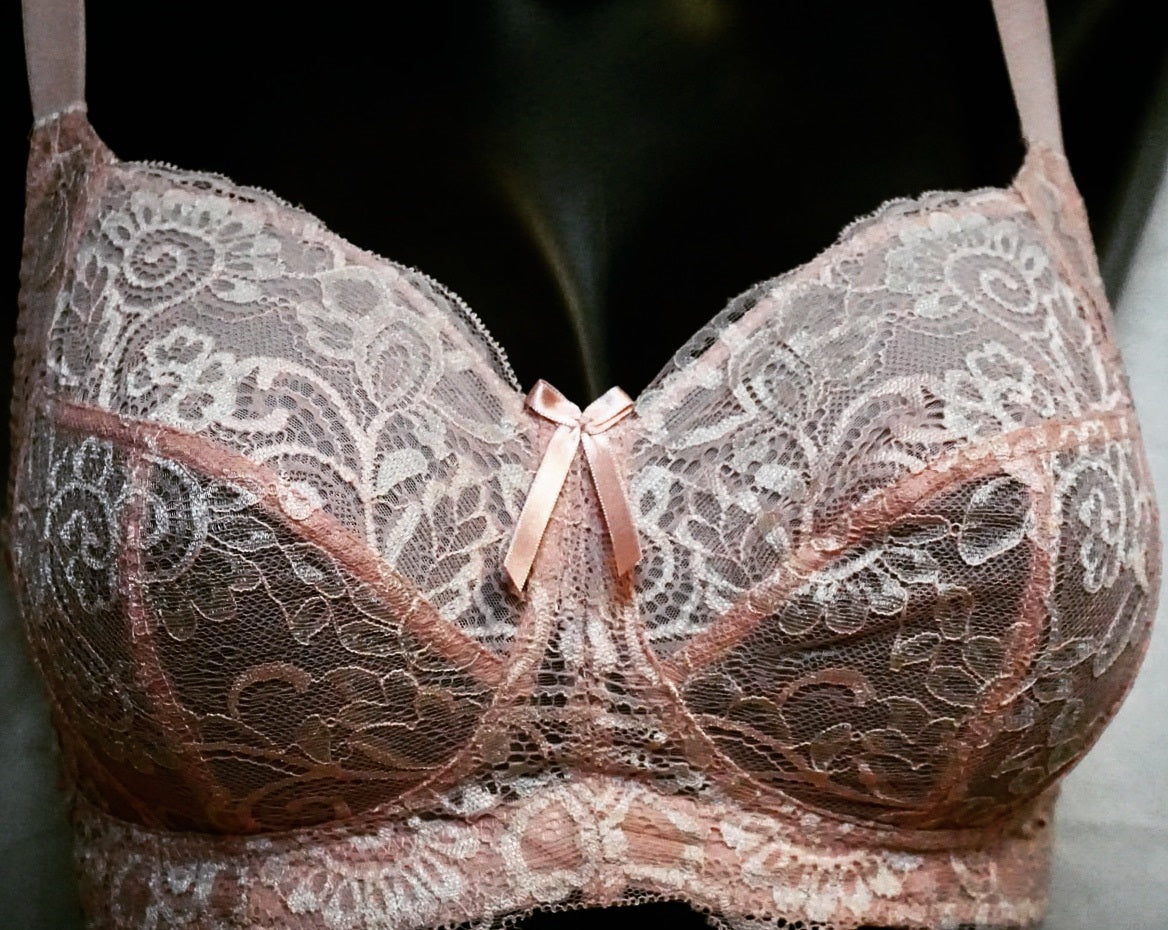 Panache Andorra, softcup, wireless bra in a pretty pink blush. Style 5671.