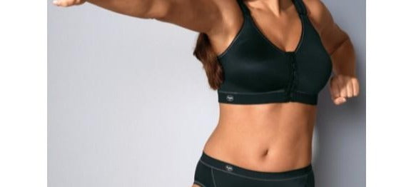 "Anita ""Active"", a front closing, softcup, sports bra that is mean to the bone when it comes to your workout. Style  5523"