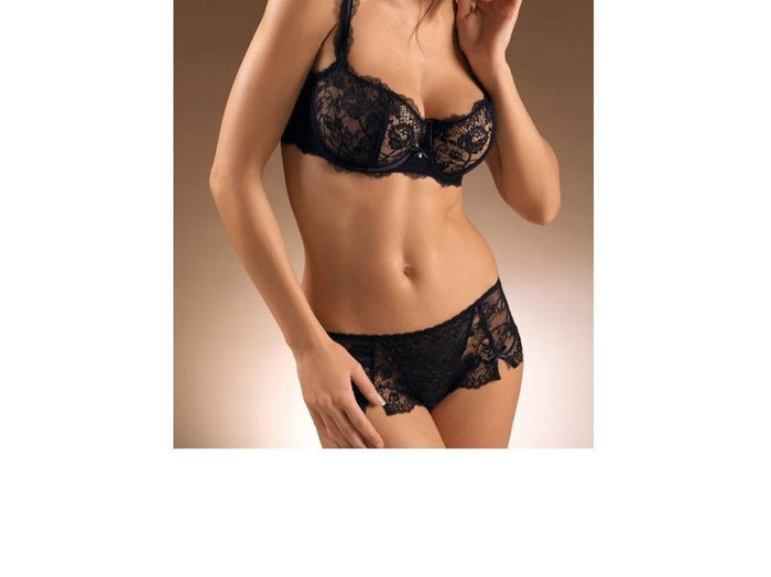 chantelle eternelle lined demi 3622 black