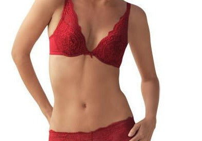 the little bra company little lucia pushup E0004 red