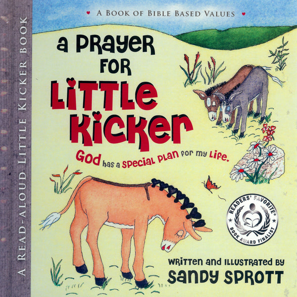 Little Kicker Books are childrens Christian story books teaching Bible based values throughout childhood. God has a special plan for children.