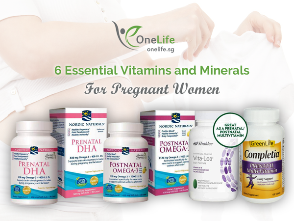 6 Essential Vitamins and Minerals For Pregnant Women