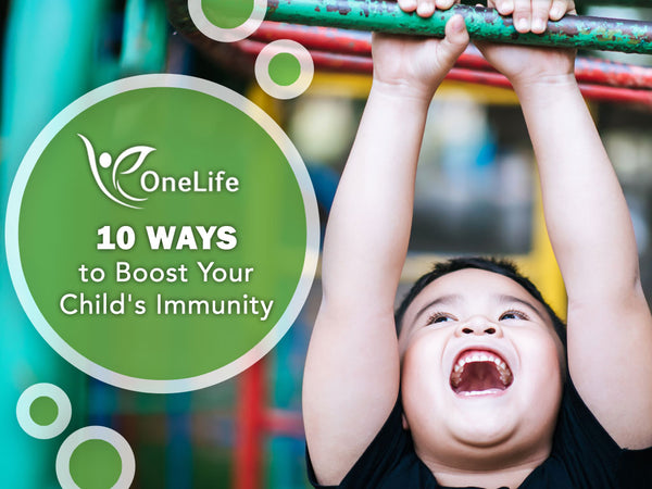 9 Ways to Boost Your Child's Immunity