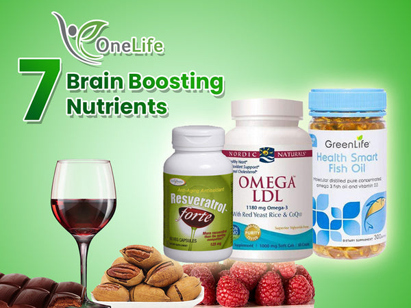 7 Brain Boosting Nutrients to Improve Your Mental Wellness