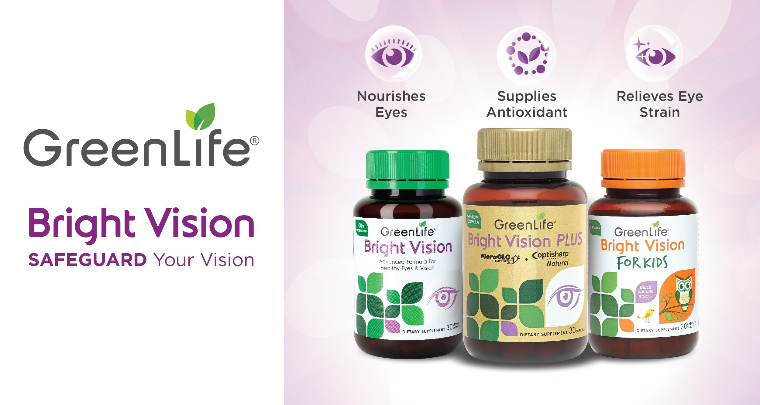 Eye Supplements Singapore GreenLife
