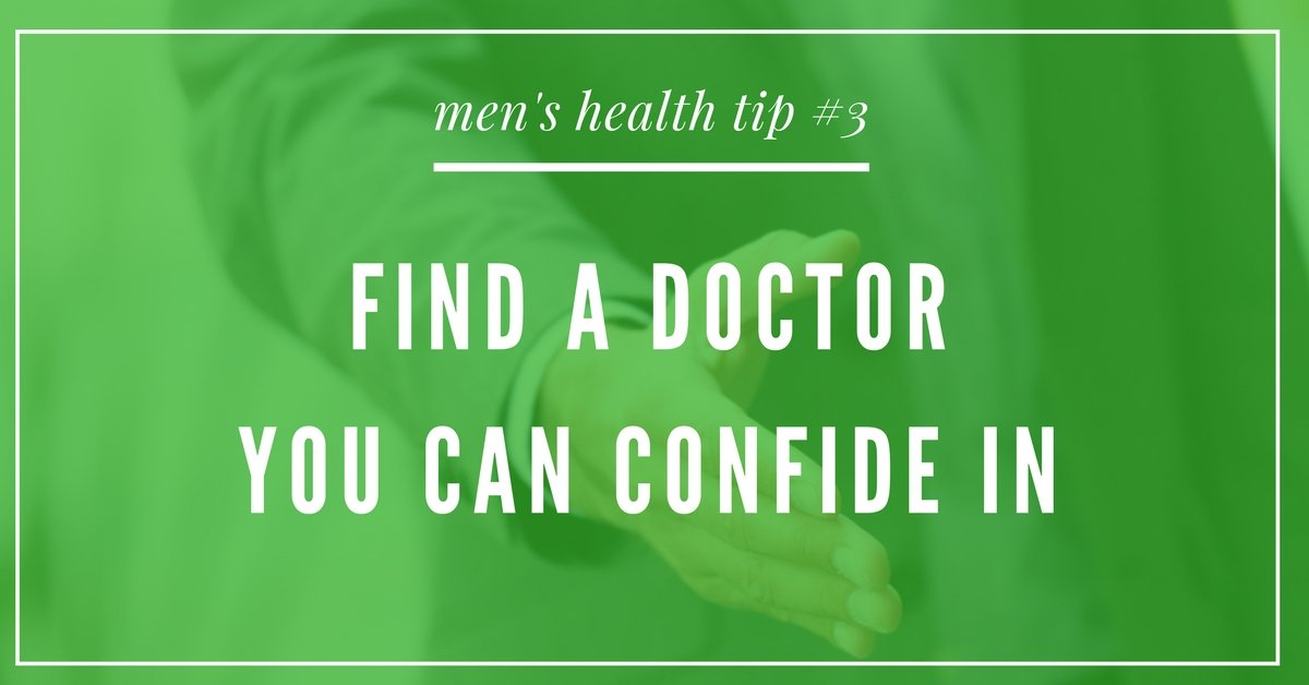 men's health tip doctor