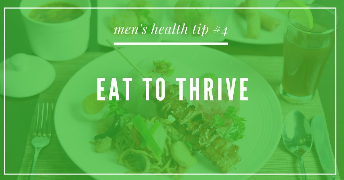 Men's Health tip for eating