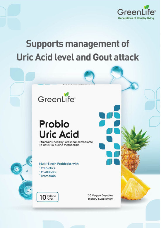 GreenLife Probio Uric Acid