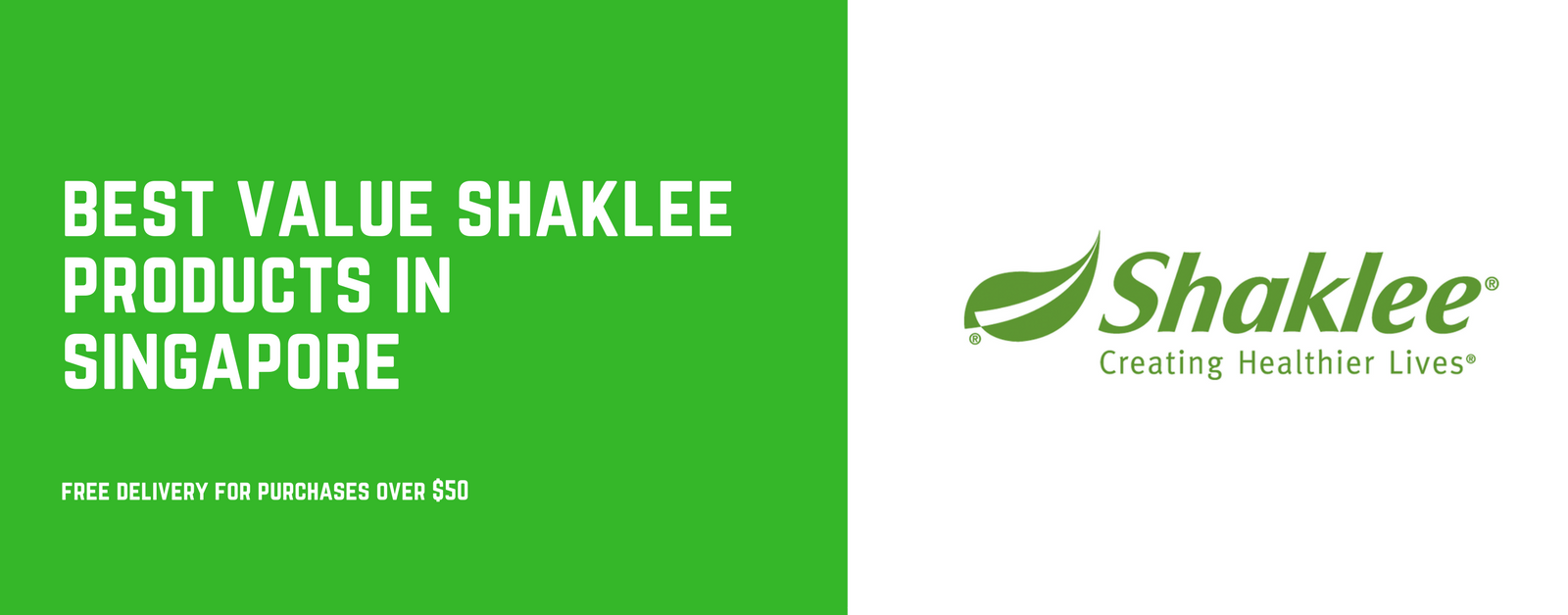 Shaklee Products in Singapore