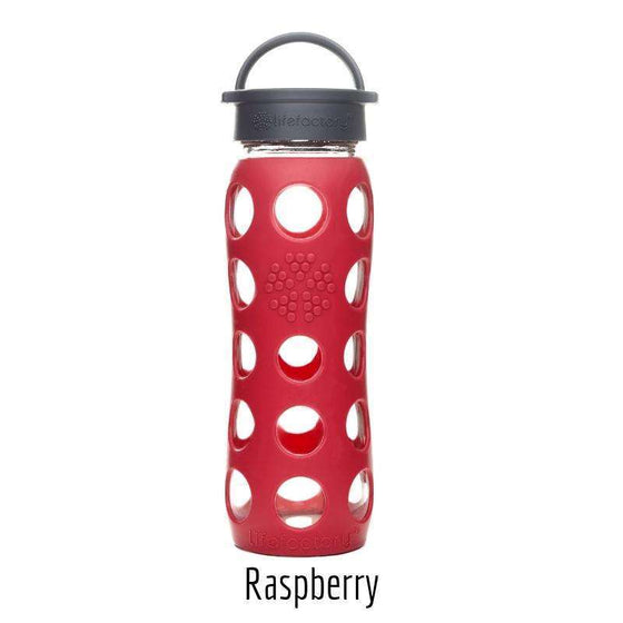 Onelife Singapore.Classic Cap Glass Bottle 22oz | 650ml,Raspberry