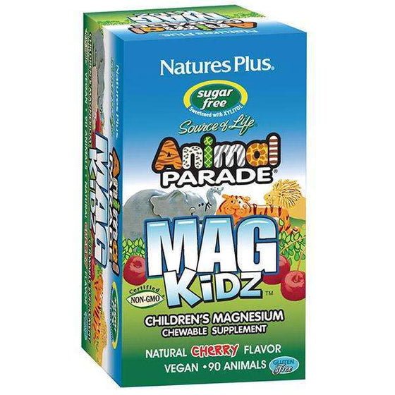 Onelife Singapore.Animal Parade Magnesium Kidz Chewable,90 chewable tablets