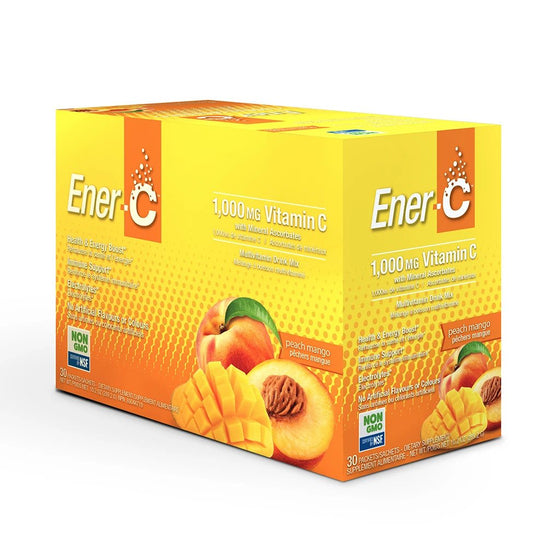 Peach Mango Multivitamin Drink Mix - 1,000mg Vitamin C
