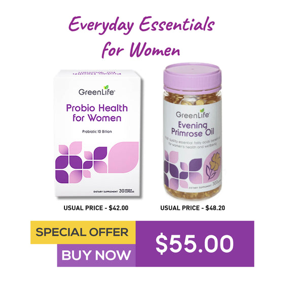 Probio Health for Women + Evening Primrose Oil