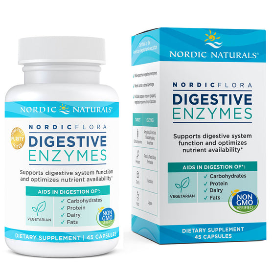 Nordic Flora Digestive Enzymes