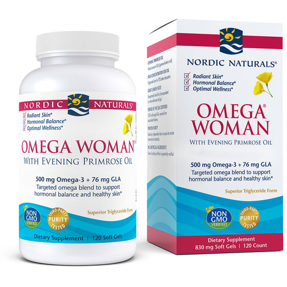 Omega Woman with Evening Primrose Oil