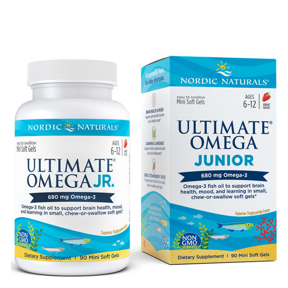 Ultimate Omega Junior (90 mini softgels)