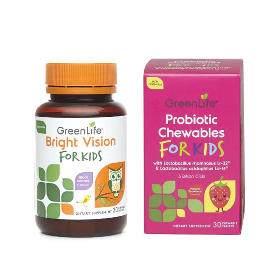 [Bundle] Bright Vision for Kids + Probiotic Chewables For Kids