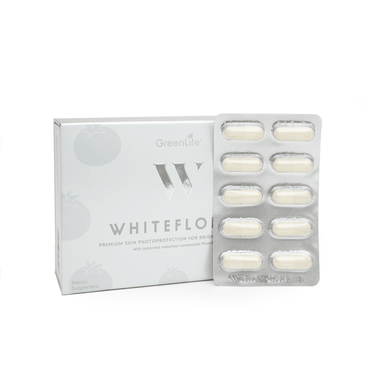 Onelife Singapore.WhiteFloral with Patented Colourless Carotenoids IBR-TCLC,30 capsules x 1 (One Month Supply)
