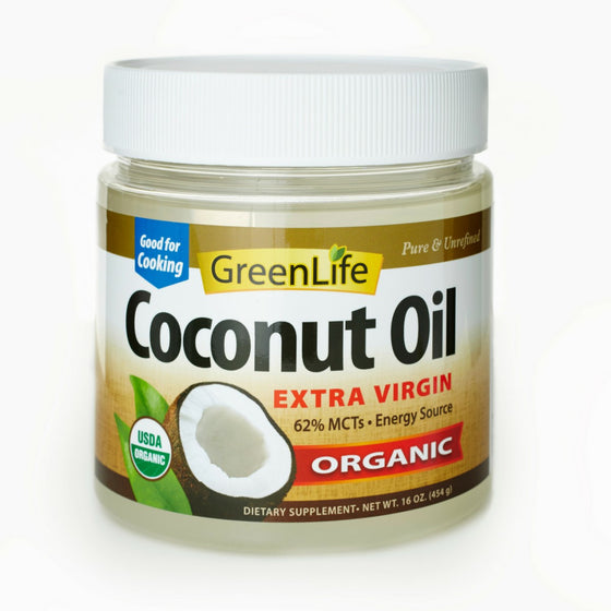 Organic Extra Virgin Coconut Oil [50%+15% off - Expiry 10/21]