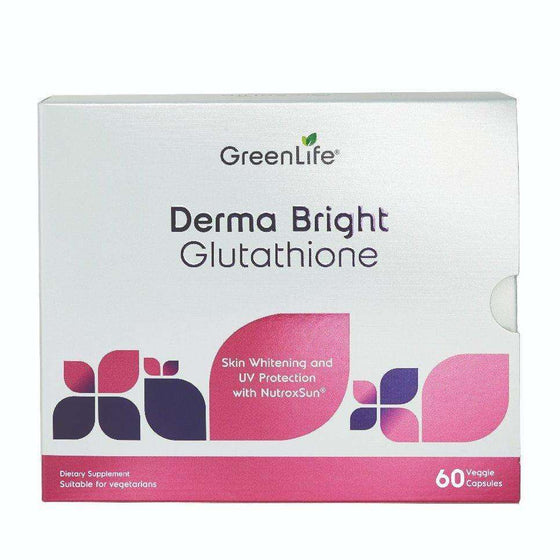Onelife Singapore.Derma Bright Glutathione - Skin Whitening,60 capsules x 2 (Two Month Supply)