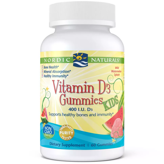 Onelife Singapore.Vitamin D3 Gummies Kids,60 gummies