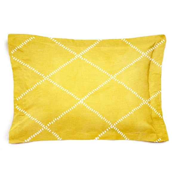 Funda de Cuadrante cama Honey amarillo - sokios