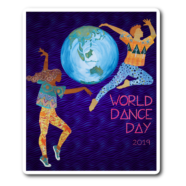 World Dance Day 2019 Sticker