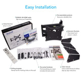 QualGear Universal Articulating Wall Mounting Kit  Package information