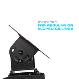 QualGear Universal Projector Ceiling Mount Features