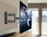 QualGear Full Motion TV Wall Mount