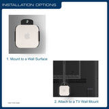 QualGear QG-AM-017 Mount for Apple TV/AirPort Express Base Station Mounting Instructions