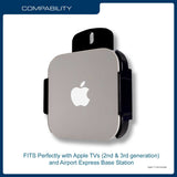 QualGear QG-AM-017 Mount for Apple TV/AirPort Express Base Station Mount w/ Apple TV