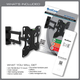 QualGear 23-Inch to 42-Inch Tilting Wall Mount LED TVs Manual