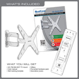 QualGear Premium Quality Full Motion Wall Mount Kit