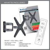 QualGear Universal Articulating Wall Mount kit