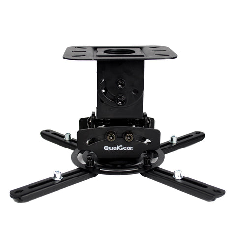 QualGear® PRB-717-BLK Universal Projector Ceiling Mount