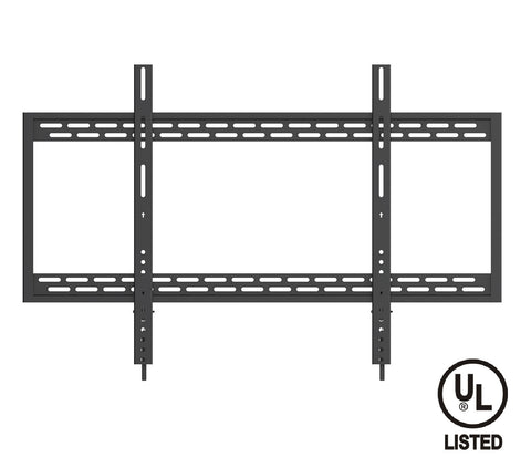 QualGear UL Listed Heavy Duty Fixed TV Wall Mount Main Image