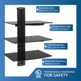 Triple Shelf Wall Mount